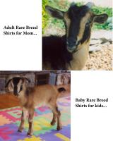Matching Adult and Child Rare Breed T-shirts
