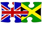 Great Britain-Jamaica Flag