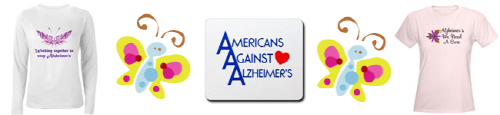 ALZHEIMER'S AWARENESS AND SUPPORT T-shirts