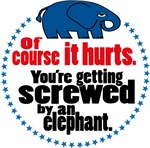 Screwed by an Elephant