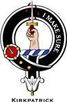 Kirkpatrick Clan Crest Badge