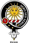 Kerr Clan Crest Badge
