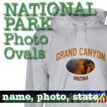 National Park T-Shirts: Photo Ovals