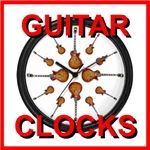 COOL GUITAR CLOCKS