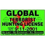 Terrorist Hunting License