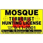 Mosque Terrorist Hunting Permit