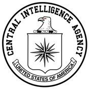 CIA Logo Patch (b/w)
