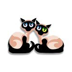 Siamese Cat Twins T-Shirts and Gifts!
