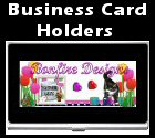 Business card holders and we have a huge selection of unique business card holders to choose from!  Click here to browse our personalized business card holders.......