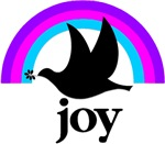 Christmas Joy and Dove on Gifts & T-Shirts