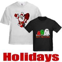Holiday t-shirts and Holiday gifts