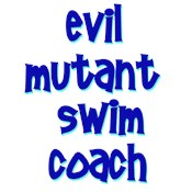 Evil Mutant Swimming Coach t-shirts & gifts