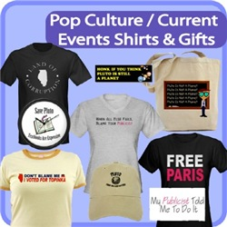 Pop Culture And Current Events Shirts & Gifts