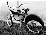 Black and White Bike
