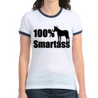 100% Smartass (donkey with propeller beanie hat)