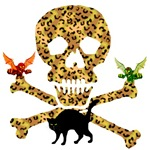 Halloween Leopard Skull