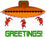 Space Aliens Christmas