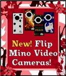 FLIP MINO VIDEO CAMCORDERS