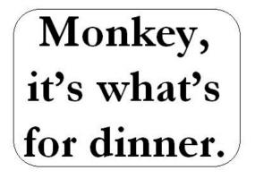 Monkeydinner