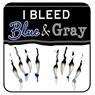 I Bleed Blue & Gray