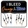 I Bleed Orange & Blue