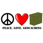 Peace, Love, Geocaching