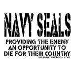 NAVY SEALS PROVIDING THE ENEMY THE OPPORTUNITY TO