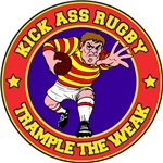 Rugby Trample The Weak T-Shirts Gifts