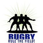 Rugby Rule The Field T-Shirts Gifts