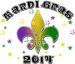Mardi Gras 2014 T-Shirts & Gifts