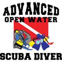 Advanced SCUBA Diver T-Shirt & Gifts