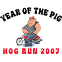 Hog Run 2007 T-Shirt & Gifts