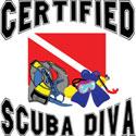 Certified SCUBA Diva T-Shirt