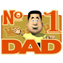 No. 1 Dad T-Shirt and Gifts