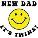 New Dad It's Twins T-Shirt