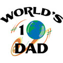 World's #1 Dad T-Shirt