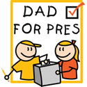 Dad For President T-Shirt