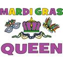 Mardi Gras Queen T-Shirt Gifts