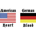 American German T-Shirt Gifts