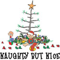 Naughty But Nice Christmas T-Shirt