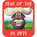 Year of The Ox T Shirt 1973 Ox T Shirts