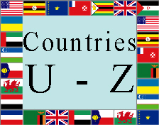 Countries U - Z