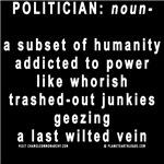 JUNKIE POLITICIANS