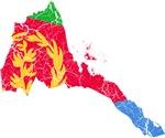Eretria Flag And Map