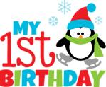Penguin First Birthday