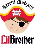 Brown Hair Pirate Little Brother