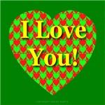 I Love You Heart of Hearts Traditional Style