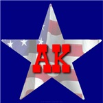 AK Patriotic State Star