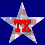 TX Patriotic State Star
