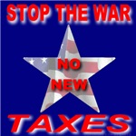 Stop The War No New Taxes
